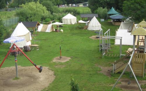Die Lager von oben