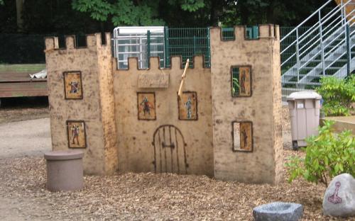 Die Burg von Ceredir