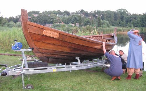 Wie bekommen wir das Boot aus dem Wasser?