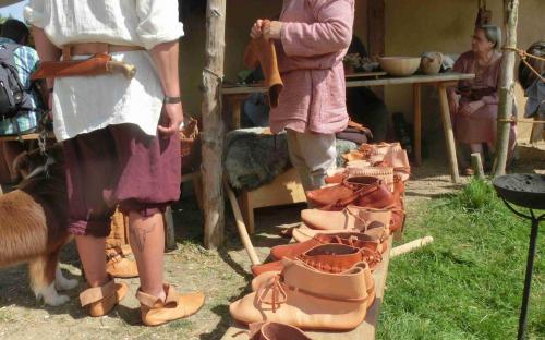 Zu Besuch beim Schuhmacher
