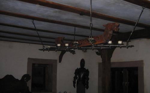 Die Decke im Rittersaal