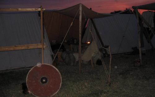 Nachts im Lager